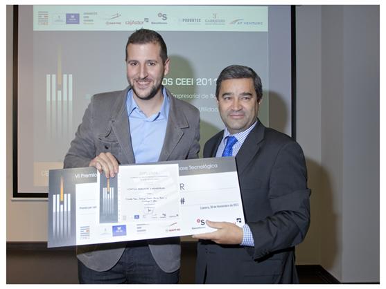 Imagen  Entrega Premios CEEI 2011