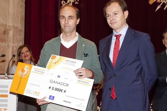 Imagen Entrega Premios CEEI 2016