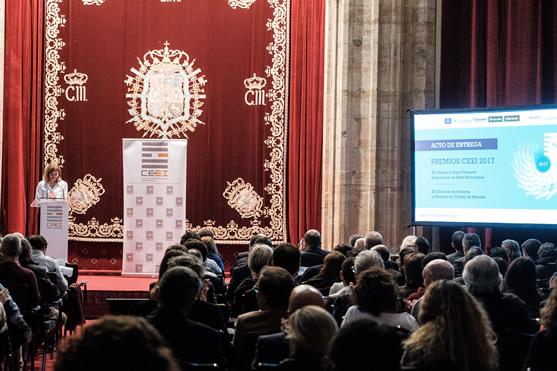 Imagen Entrega Premios CEEI 2017