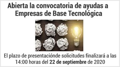 Imagen Subvenciones para Empresas de Base Tecnológica en el Principado de Asturias. Abierta convocatoria