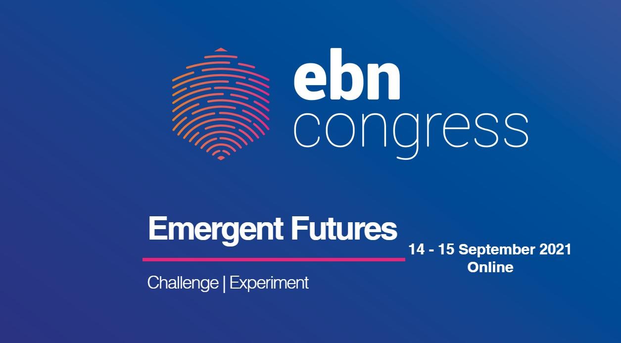 Imagen 14 y 15 septiembre Congreso EBN 2021: Futuros emergentes